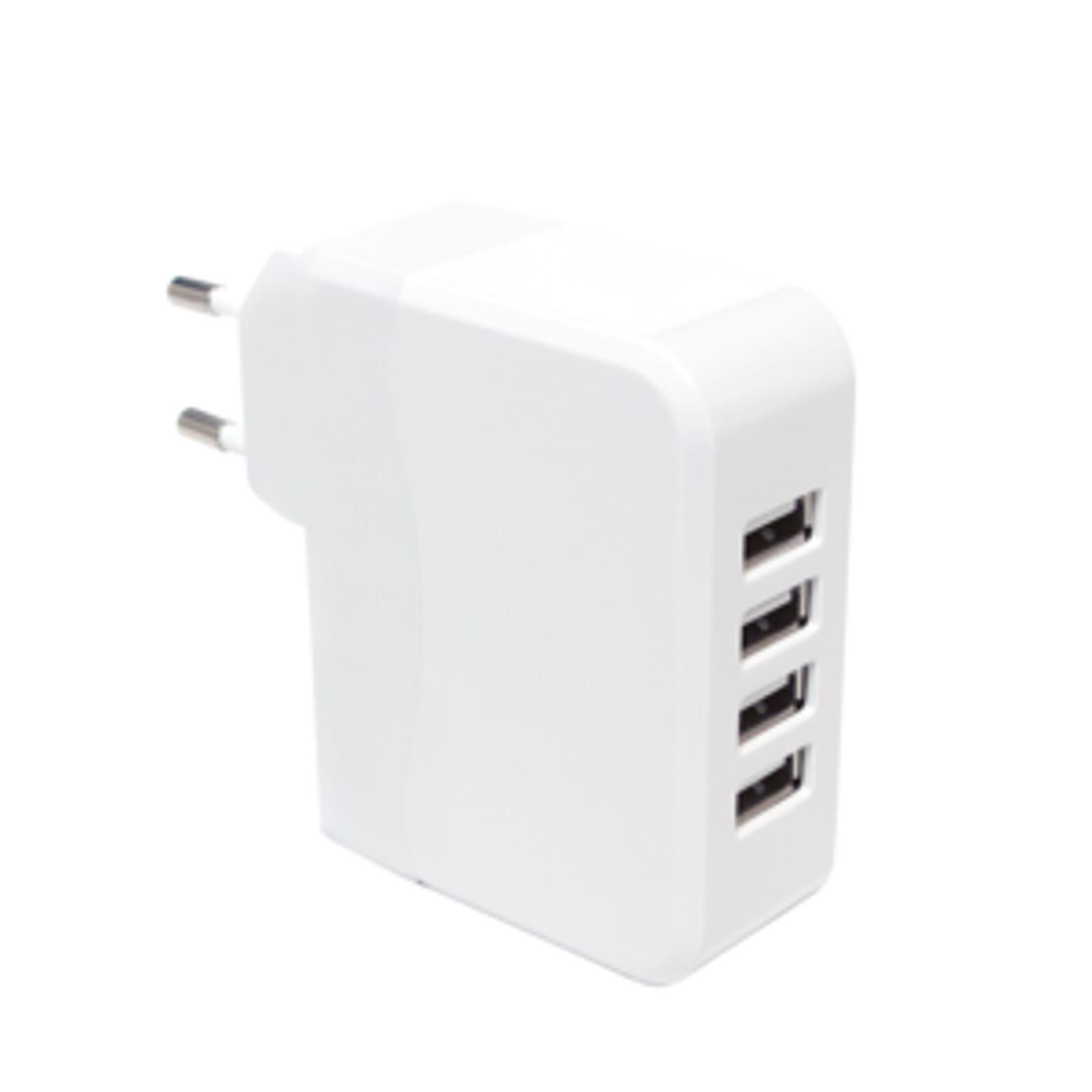 logilink 4 port usb ladeger t charger ac netzteil intellig ic smartphone pa0096 ebay. Black Bedroom Furniture Sets. Home Design Ideas