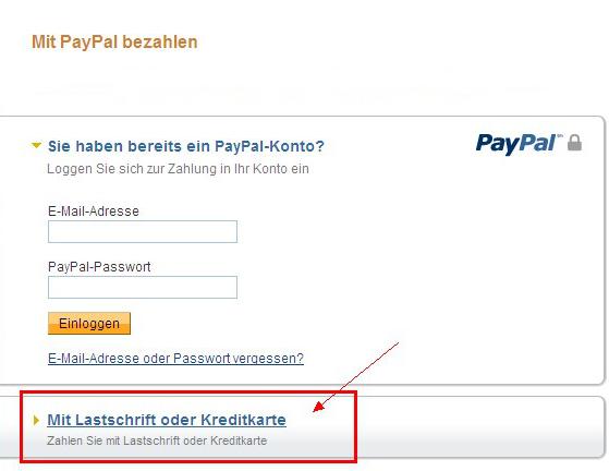 Zahlungsabwicklung Lastschrift o. Kreditkarte