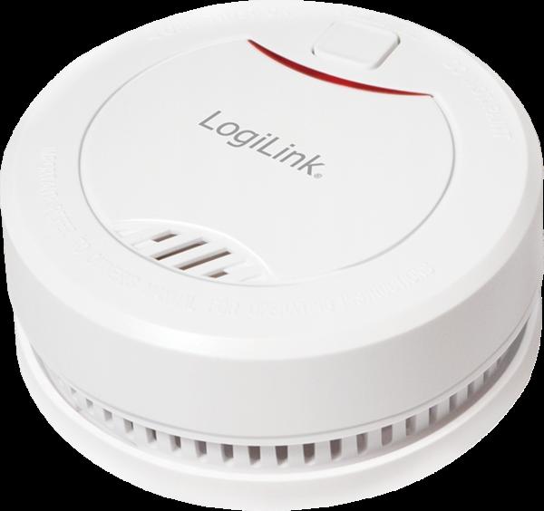 LogiLink Rauchmelder mit VdS Zulassung 10 Jahre Lebensdauer SC0010