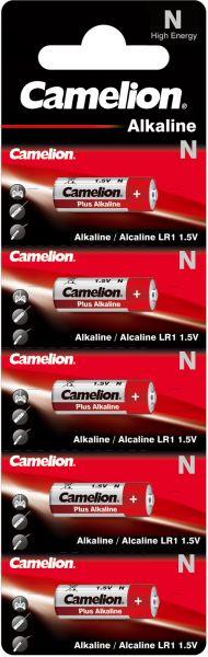 Camelion Alkaline Batterien N High Energy LR1 1,5 V 5er Blister Lady LR1-BP5