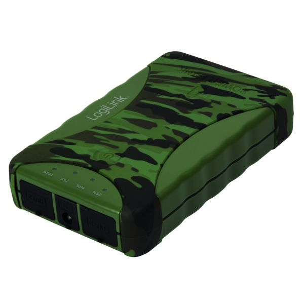LogiLink Mobile Power Bank, 8800 mAh, outdoor IP54
