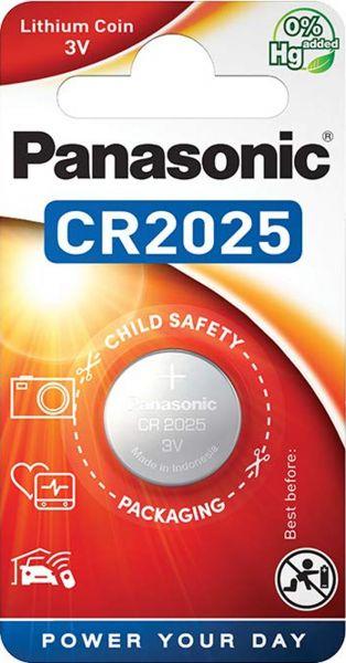 Panasonic Knopfzelle Lithium CR2025 1er Blister 3V CR-2025EL/1B