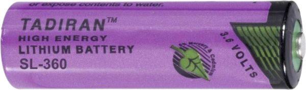 Tadiran Spezial-Batterie ER-AA 3,6V 2400mAh Lithium Zelle Bulk Standard SL-360/S