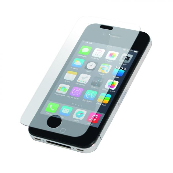 LogiLink Displ. protection glass for iPhone 4