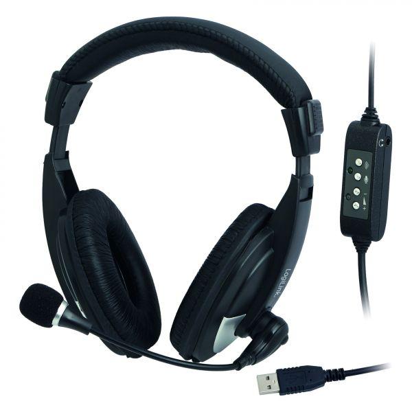 LogiLink HS0019 Headset Stereo USB