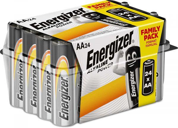 Energizer Alkaline Power AA 24er Box Mignon Batterie 1,5V LR06 E300456400