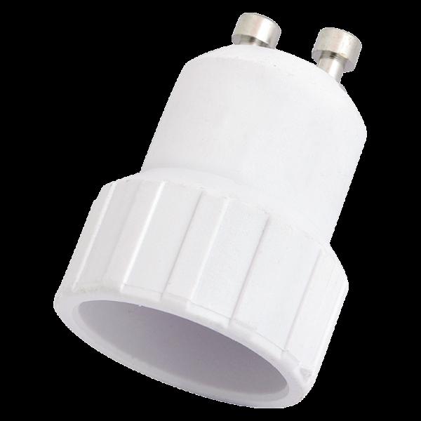 LogiLink Lampensockel Adapter GU10 auf E14