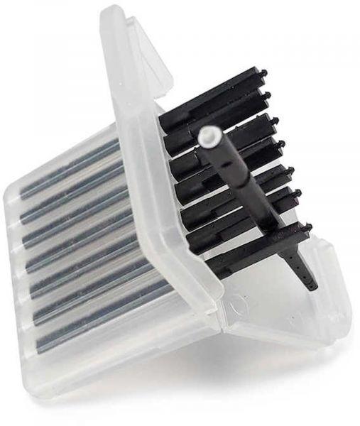 EWANTO 8er Box Cerumenfilter Wax Guards III wie CeruStop mit je einem Filter-Wechselstift, Wachsschutz, WaxStop, Ohrenschmalzfilter HA-01