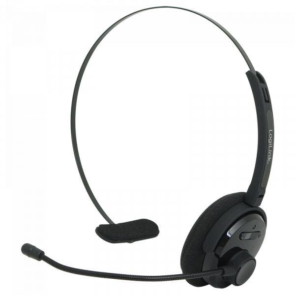 LogiLink Bluetooth Headset, Mono, with headband and microphone BT0027