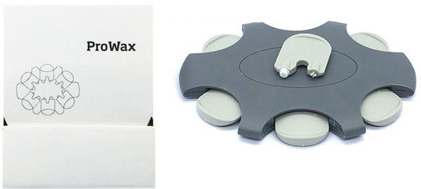 EWANTO 6er Box ProWax Cerumenfilter Wachsschutz Ohrenschmalzfilter wie Oticon mit Wechselwerkzeug für jeden Filter HA-09