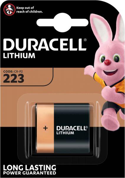 Duracell Specialty High Power Lithium 223 Foto-Batterien 6 V Ultra Lithium CR-P2 1er Blister 223
