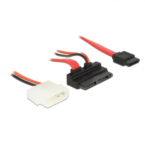 Delock Kabel Micro SATA ST> +5V Molex