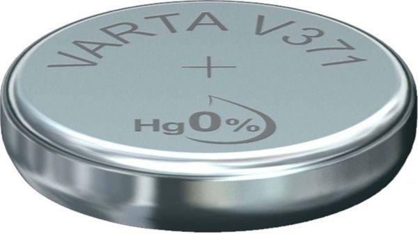 Varta Watch V 371 Uhrenzelle SR 920 SW V371 (SR69) Silber-Oxid Knopfzelle 44mAh 1,55 V Bulk V 371