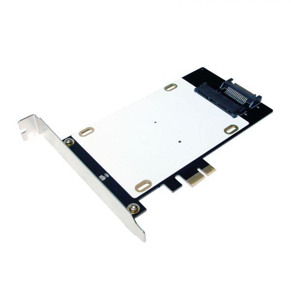 LogiLink PCI-Express Card, SSD/HDD Hybrid card