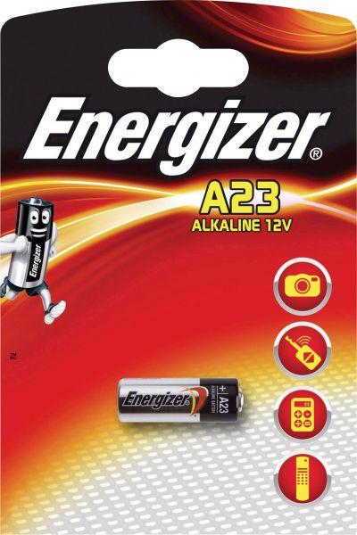 Energizer 1er Blister Fotobatterie Alarmanlage Batterie A23 12V 23A V23GA 639315