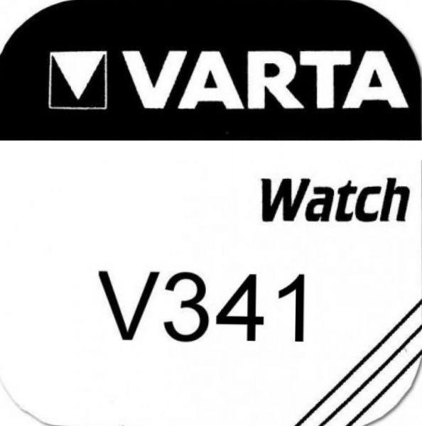 Varta Watch V341 Uhrenzelle Knopfzelle SR 714 SW Silber-Oxid 11 mAh 1,55 V 1er Blister V 341