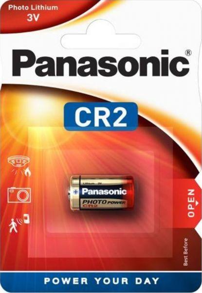 Panasonic Lithium Power Fotobatterie CR2 3V 1er Blister CR-2L