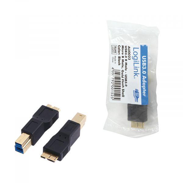 LogiLink USB Adapter, USB 3.0 MB / Micro BM AU0023