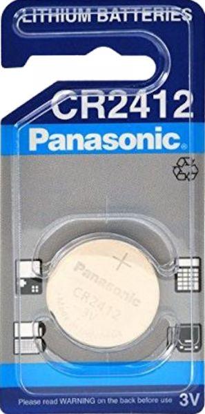 Panasonic Lithium 3V Zelle 1er Blister CR2412 IEC C Knopfzelle CR2412
