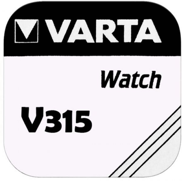 Varta Watch V 315 Uhrenzelle Knopfzelle SR 716 SW V315 Silber-Oxid 20mAh 1,55 V 1er Blister V 315