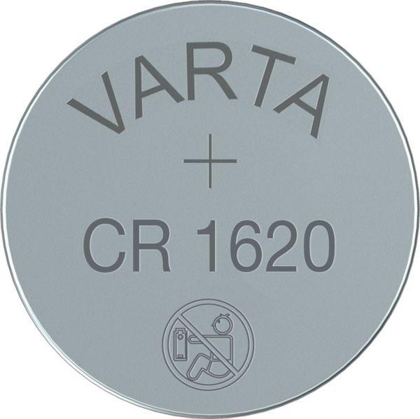 Varta CR1620 3V Batterie Lithium Knopfzelle 6620 Bulk VCR1620