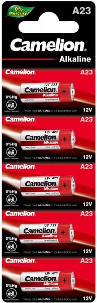 Camelion Alkaline Batterien A23 V23GA MN21 E23A 12 V 5er Blister LR23A A23-BP5