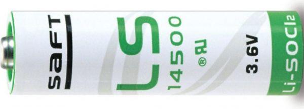 Saft Spezial-Batterie Mignon (AA) Lithium 3,6 V 2.600 mAh Bulk 14500 LS14500