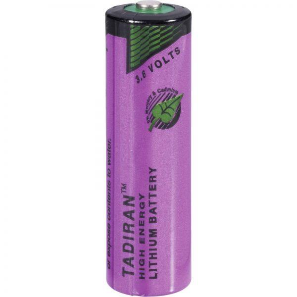 Tadiran Spezial-Batterie ER-AA 3,6V 2200mAh Lithium Zelle Bulk Standard 14505 SL-760/S