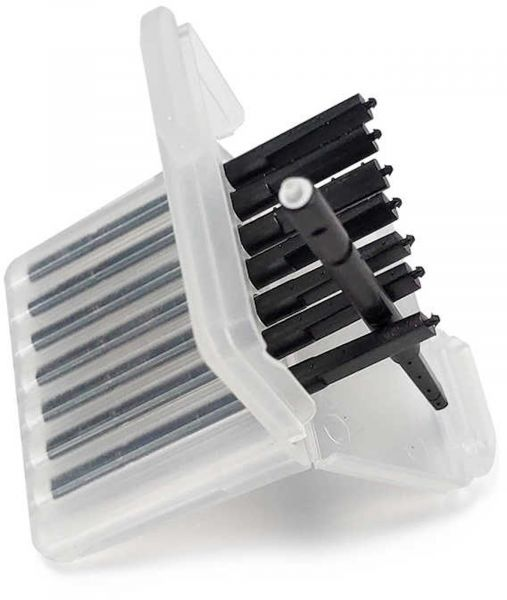 EWANTO 8er Box Cerumenfilter Wax Guards III wie CeruStop mit je einem Filter-Wechselstift, Wachsschu