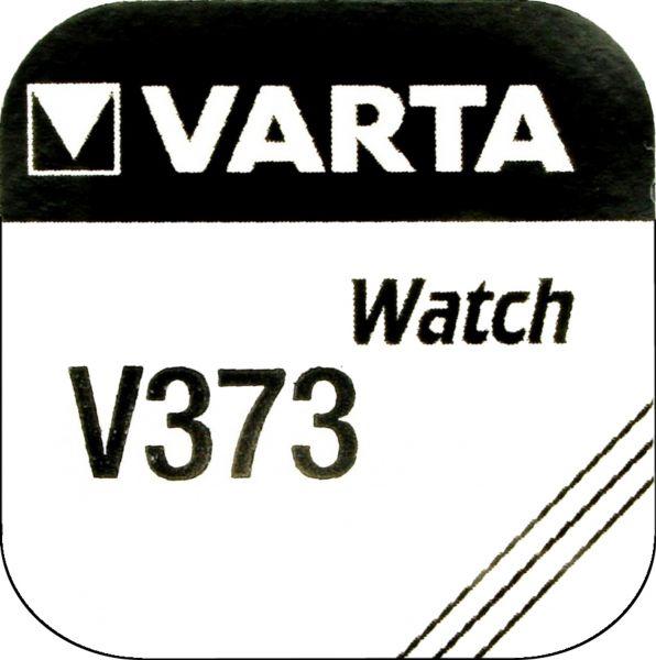 Varta Watch V 373 Uhrenzelle Knopfzelle SR 916 SW V373 Silber-Oxid 23mAh 1,55 V 1er Blister V 373