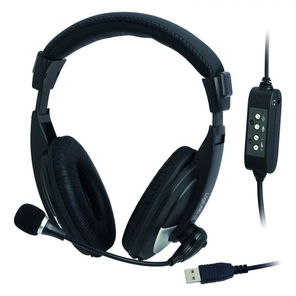 LogiLink Headset Stereo USB