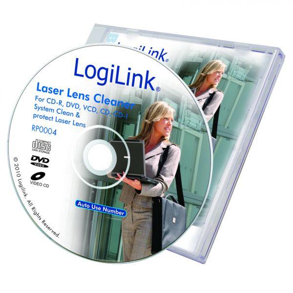 LogiLink Cleaner, CD ROM Lens Cleaner Dry type