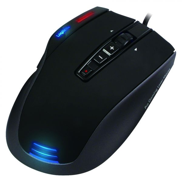 LogiLink Mouse, Professional Gaming Laser Mouse USB