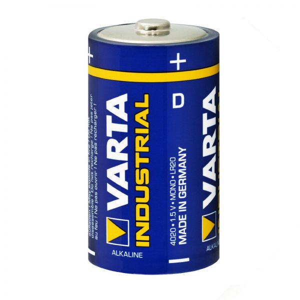 Varta LR20 Industrial 1BULK Batterie D Zelle Mono Cell 4020