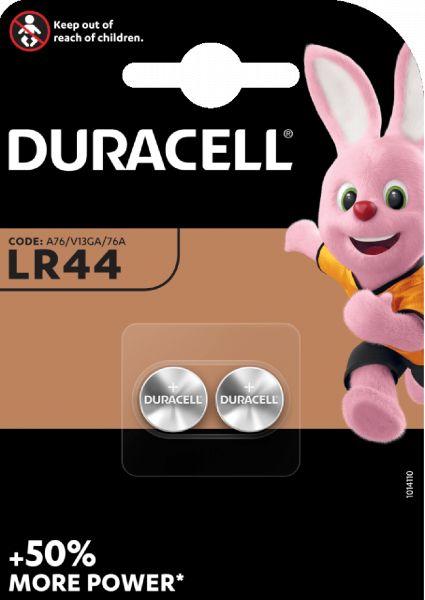 Duracell G13 V13GA 2er Blister LR44 Batterie Knopfzelle 76A LR1154 357A GPA76 AG13 LR44/A76