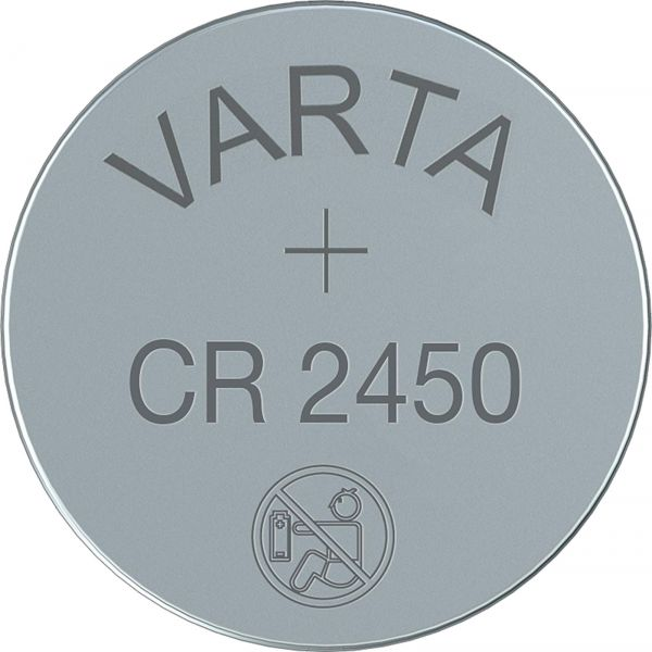 Varta CR2450 3V Batterie 6450 Lithium Knopfzelle 560 mAh - Bulk VCR2450