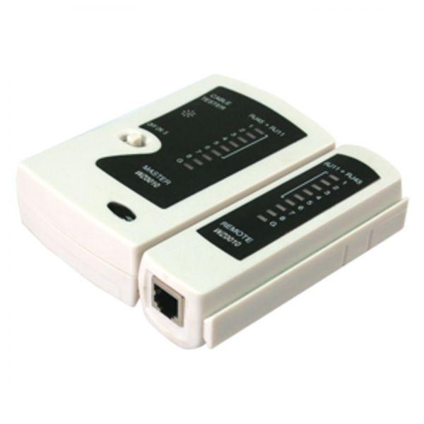 LogiLink Cable Tester RJ11, RJ12, RJ45