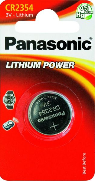 Panasonic CR2354 Batterie Lithium Knopfzelle 560 mAh 1er Blister CR-2354EL/1B