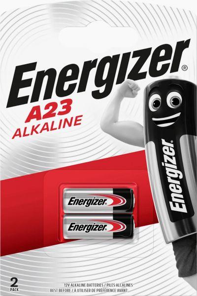 Energizer 2er Blister Fotobatterie Alarmanlage Batterie A23 12V 23A V23GA 8LR932 639336