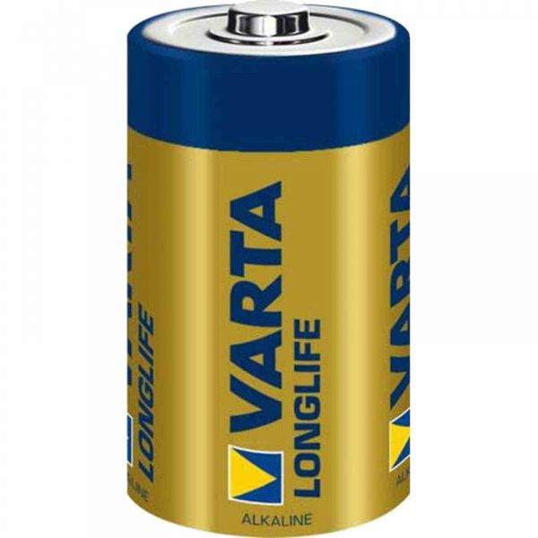Varta Longlife D 1,5 V Mono Alkaline Batterie LR20 bulk 4120