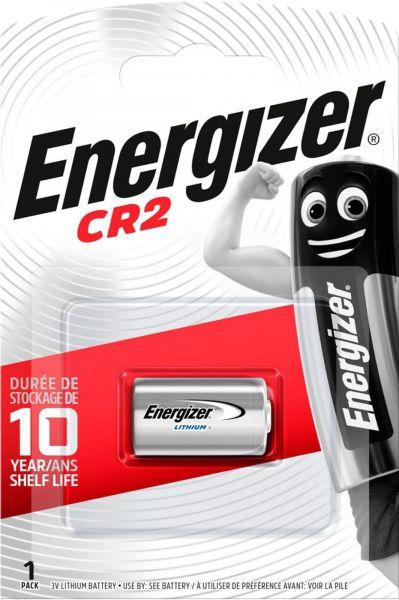 Energizer Lithium Fotobatterie CR2 3V 1er Blister 800 mAh CR2