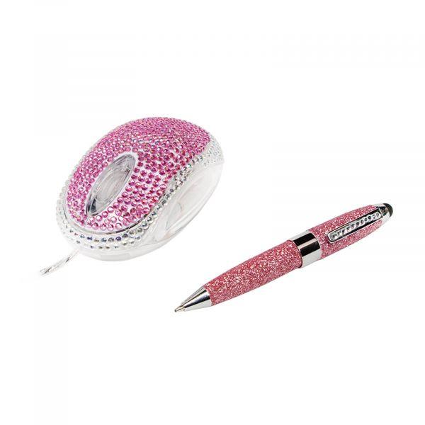 LogiLink Maus, Optical Mouse, Diamond & Stylus Pen ID0124