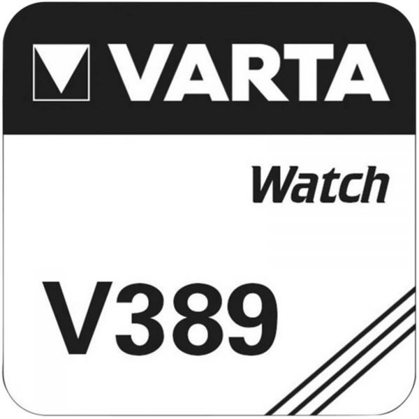Varta Watch Uhrenzelle Knopfzelle SR 1130 SW V389 Silber-Oxid 90 mAh 1,55 V 1er Blister V 389