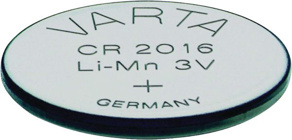 Varta CR2016 3V Batterie Lithium Knopfzelle Bulk VCR2016B
