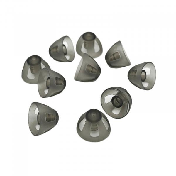 EWANTO offener Dome/offenes Schirmchen aus Silikon für Hörgeräte Größe M (8 mm) HA-20