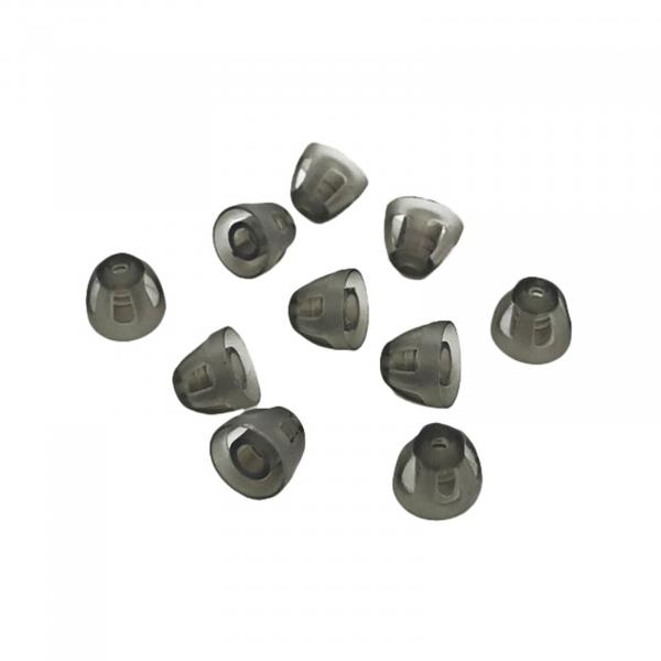 EWANTO offener Dome/offenes Schirmchen aus Silikon für Hörgeräte Größe S (5mm) HA-19