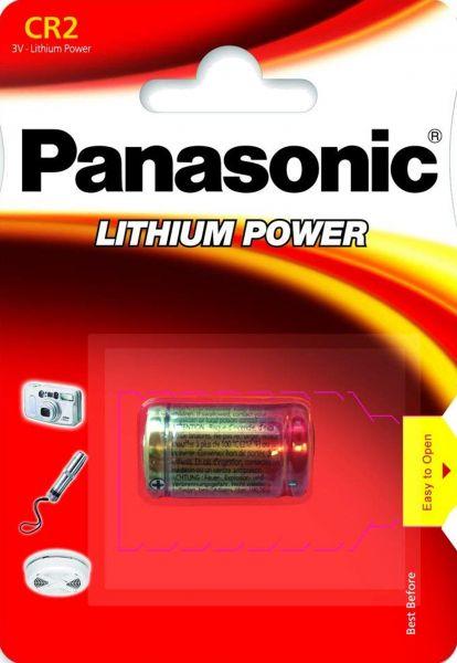 Panasonic CR-2L Lithium Power Fotobatterie CR2 3V