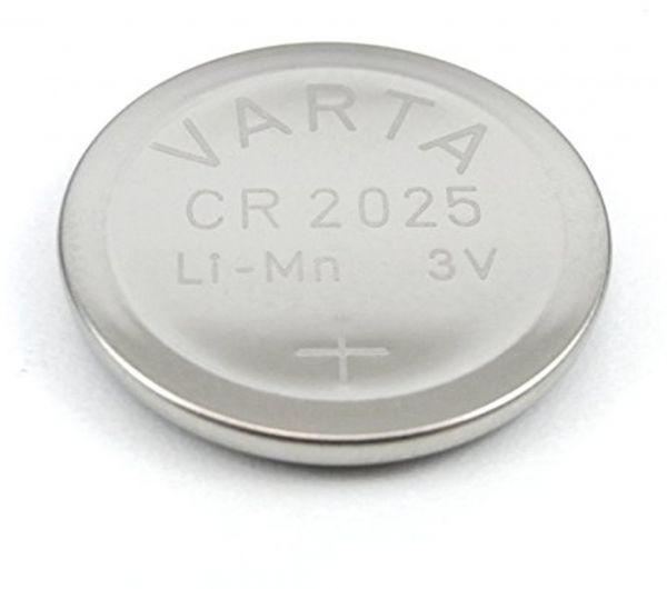 Varta VCR2025B CR2025 3V Batterie Lithium Knopfzelle Bulk