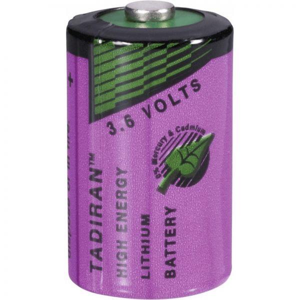 Tadiran Spezial-Batterie CR1/2 AA 3,6V 1100mAh Lithium Zelle Bulk Standard SL-750/S