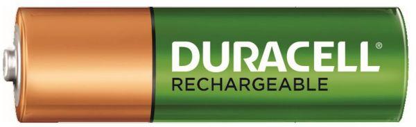 Duracell 1 Zelle Akku AA HR06 2500 mAh vorgeladen Bulk DX1500